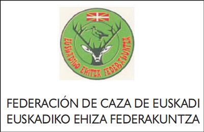 logo de federacion vasca de caza