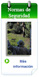 la seguridad en la caza